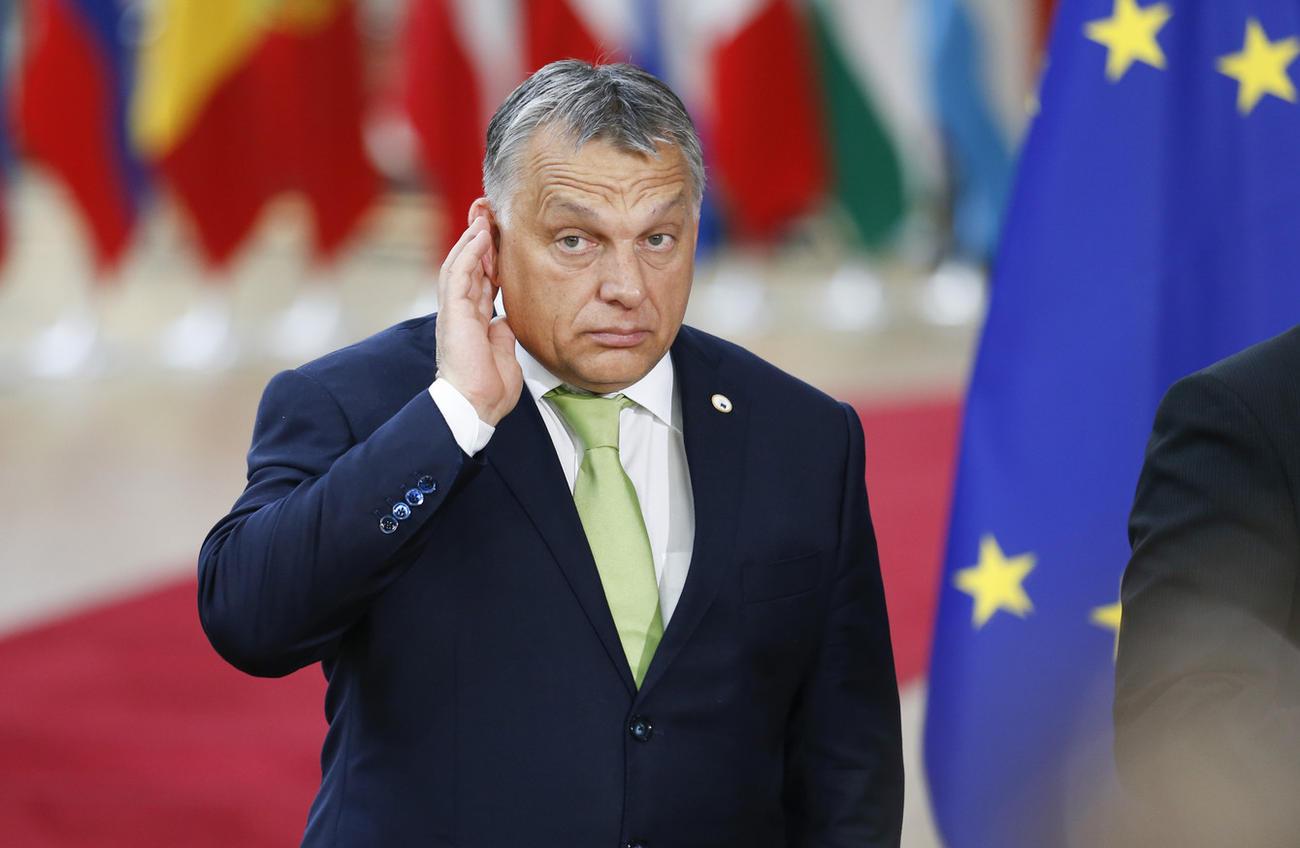 Il premier ungherese Orbàn