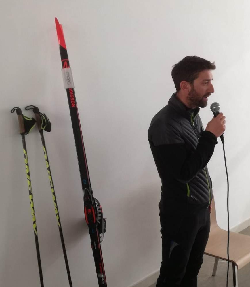 Nicola Fruner risponde alle domande dei ragazzi
