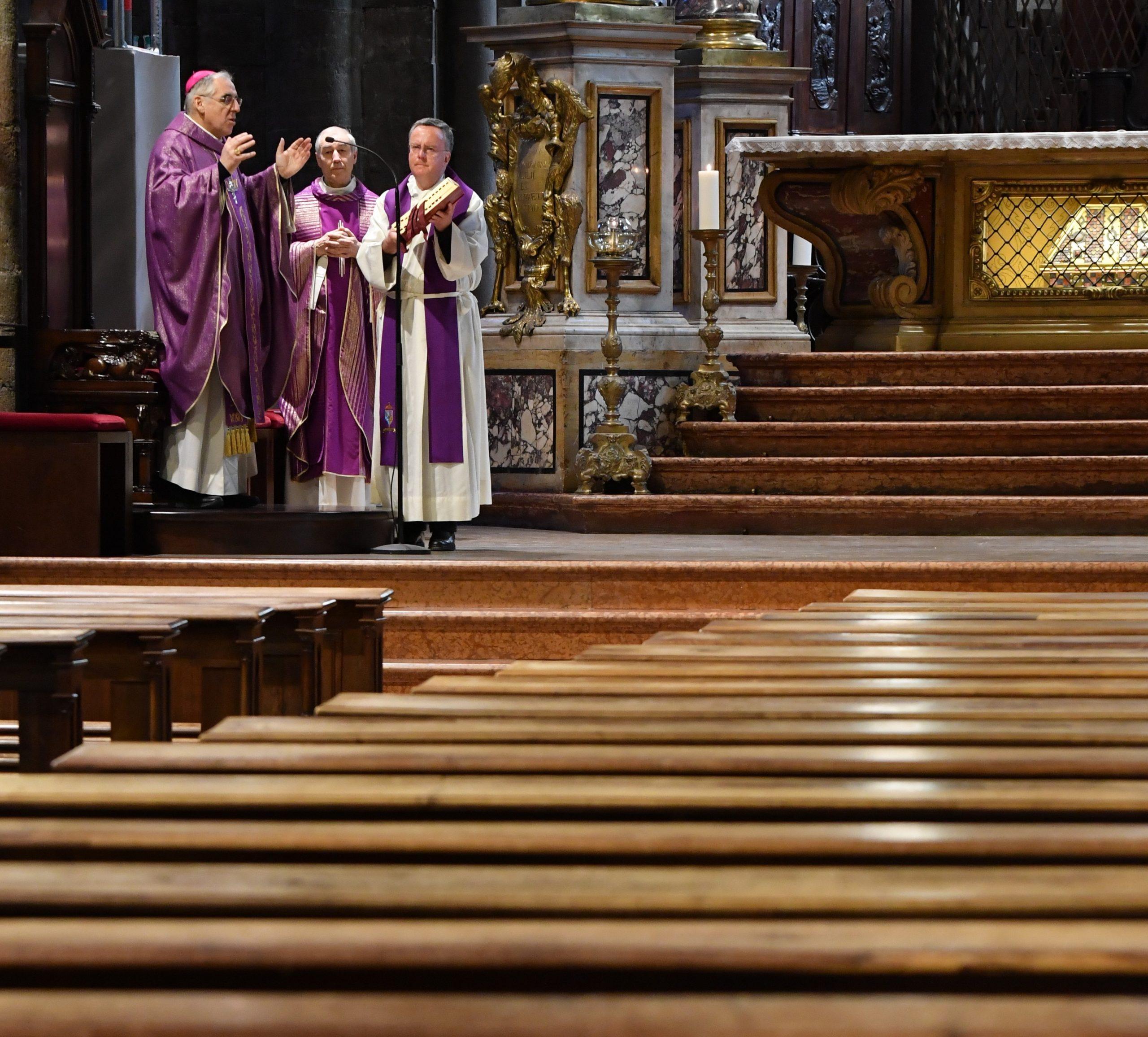 Santa messa in cattedrale