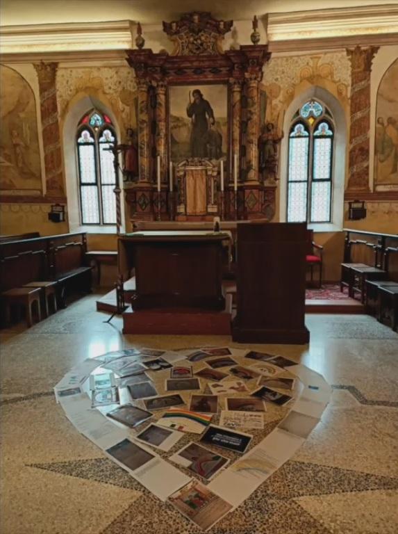 I disegni a San Romedio