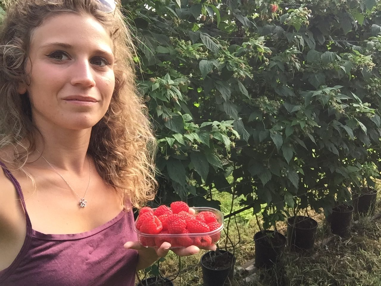 Martina Tessadri, giovanissima imprenditrice agricola