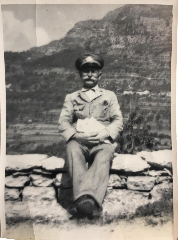 Pietro Pontalti, portalettere a Povo dal 1901 al 1950