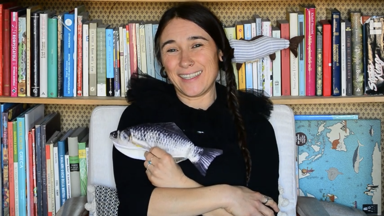 Alessia Carli, insegnante di inglese alla scuola elementare di Rumo