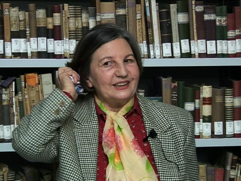 Floriana Tagliapietra in una videointervista della Fondazione Museo Storico