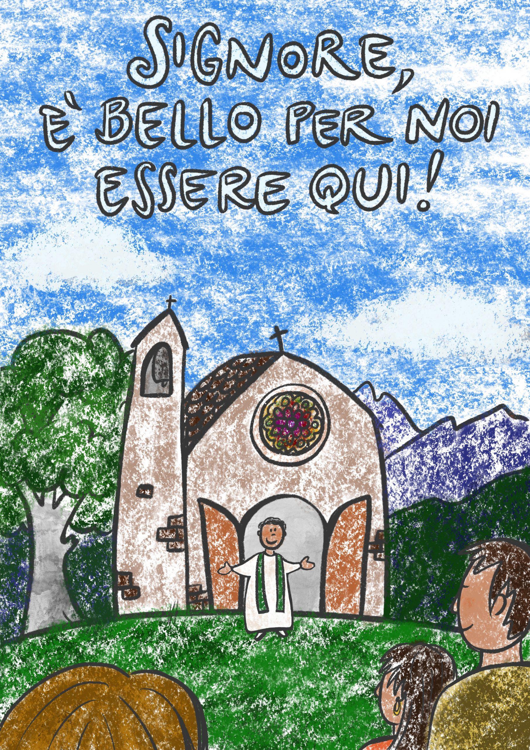 Sul monte con Gesù