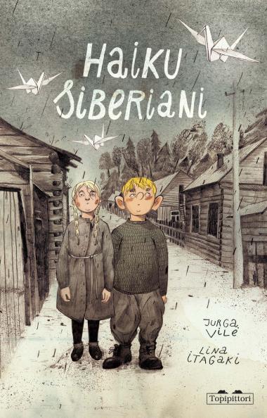 "La copertina del libro di Jurga Vile ""Haiku Siberiani"""