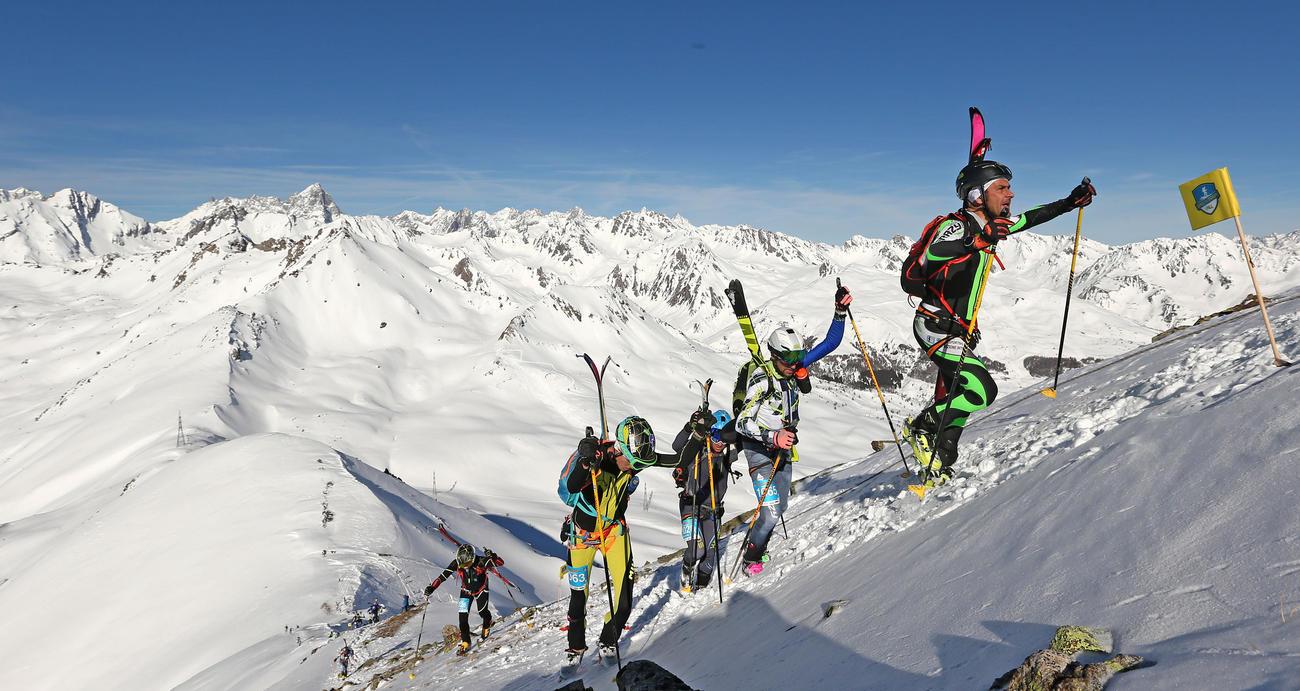 La recente tappa valdostana dell'EPIC Ski Tour foto Newspower.it