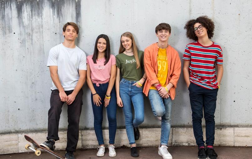 Il cast di Jams