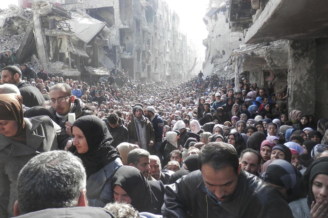 L'esodo siriano (archivio Sir)