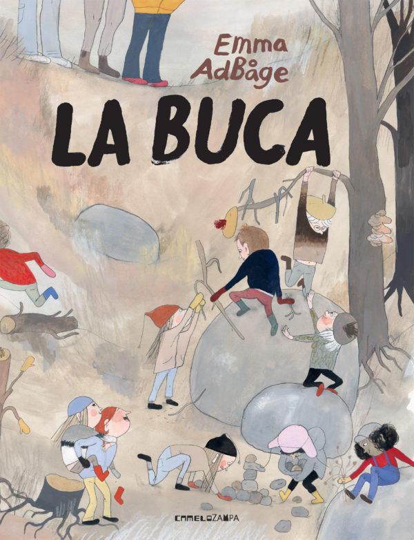 """La copertina del libro di Emma AdBåge """"La buca"""""""