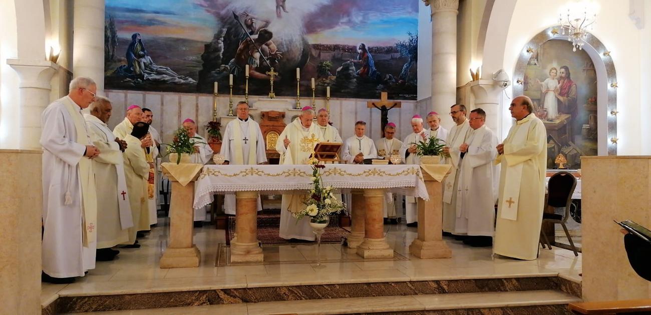 I vescovi del coordinamento HLC in pellegrinaggio a Gaza