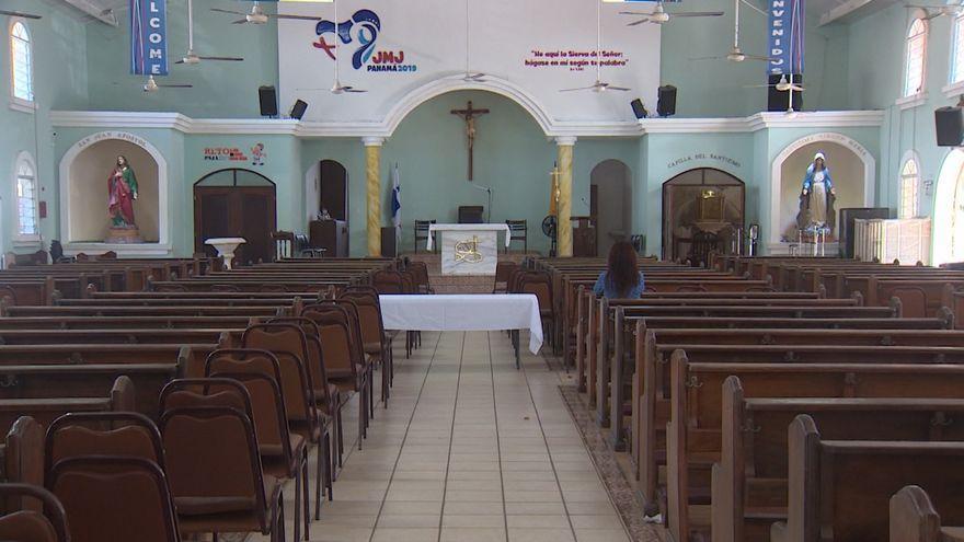 UNa chiesa vuota a Panama