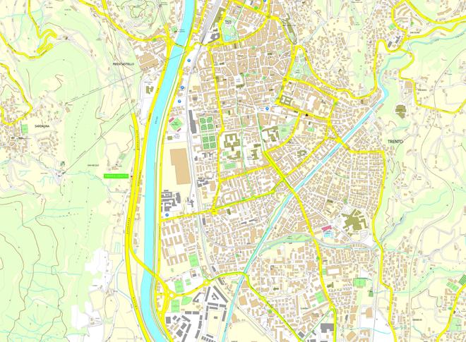 Trento e le sue circoscrizioni - www.comune.trento.it