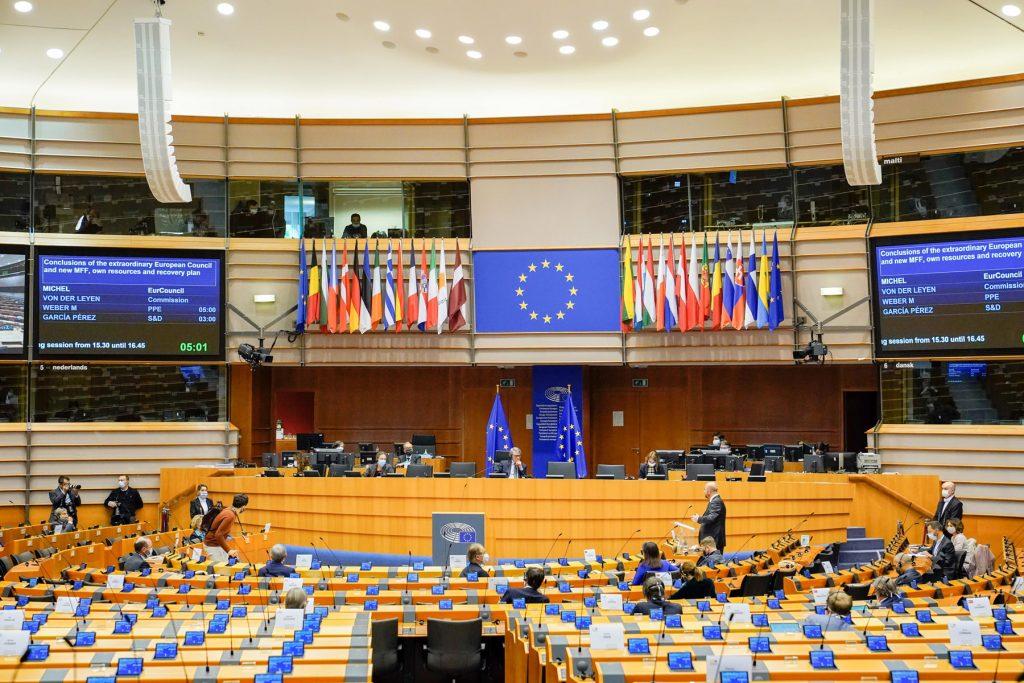 """Dibattito sul """"recovery plan"""" e sul bilancio dell'Ue"""