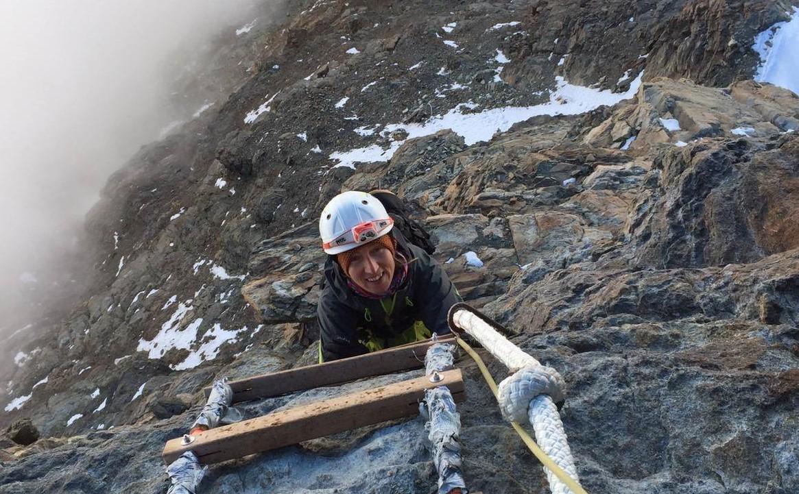 Loredana Degregori alpinista