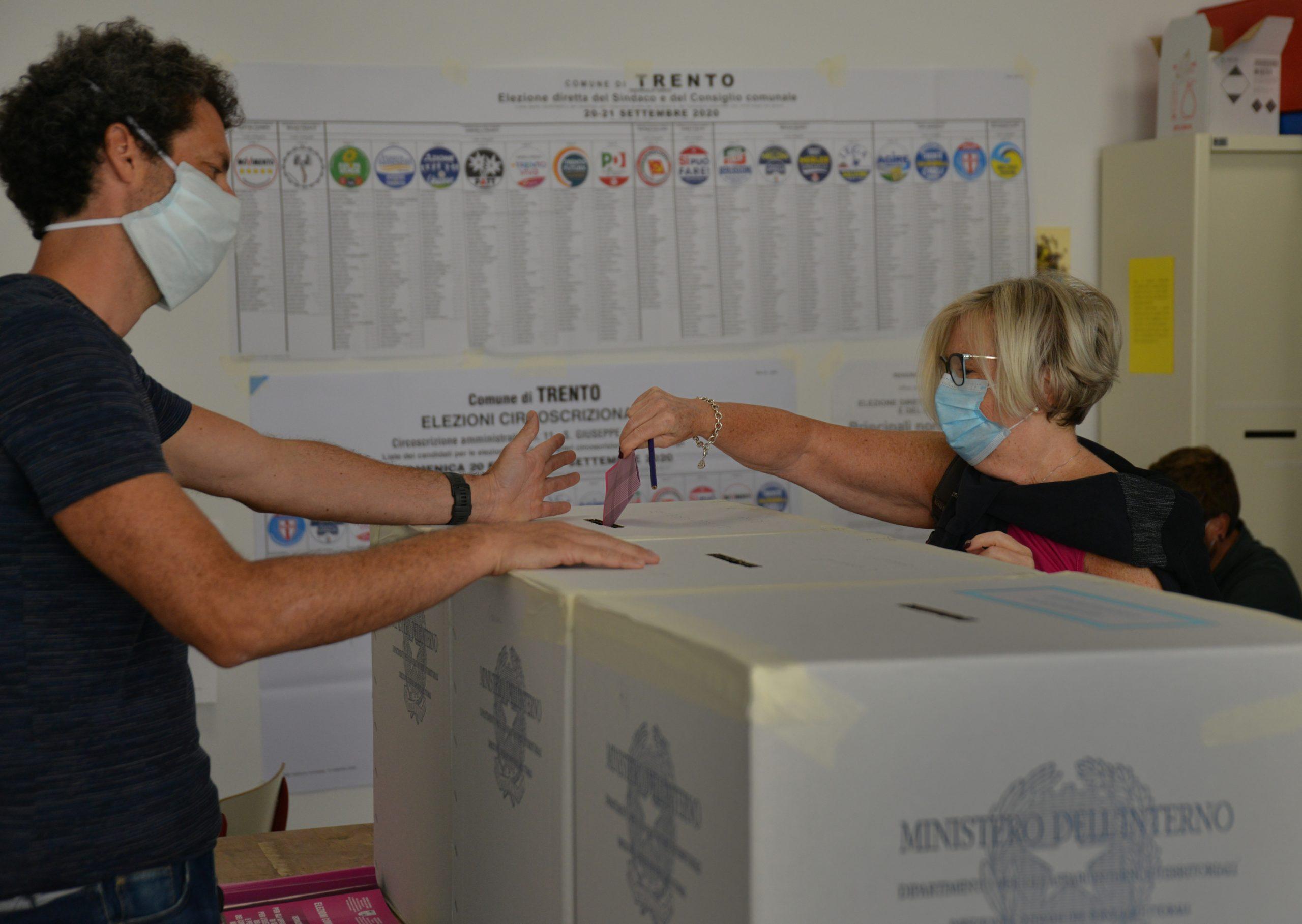 Elezioni amministrative 2020. Foto Zotta