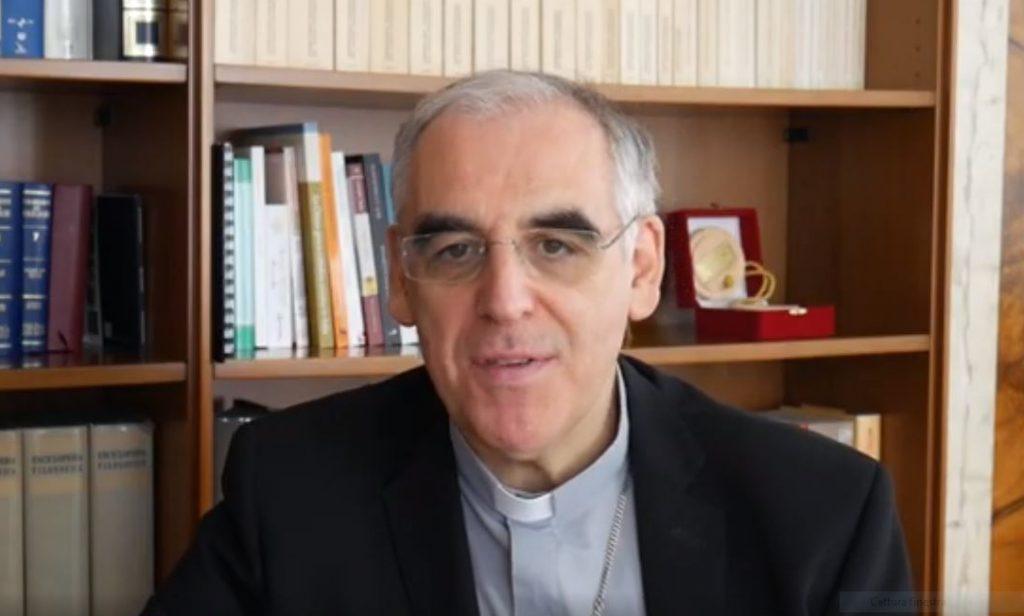 Il vescovo di Trento Lauro Tisi