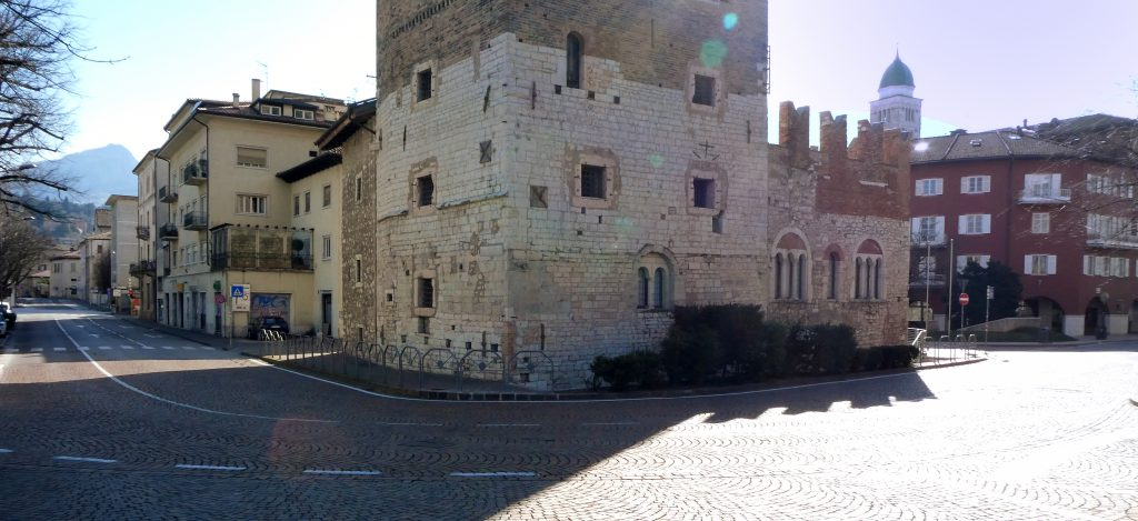 Trento nei giorni del lockdown. Foto (c) Gianni Zotta