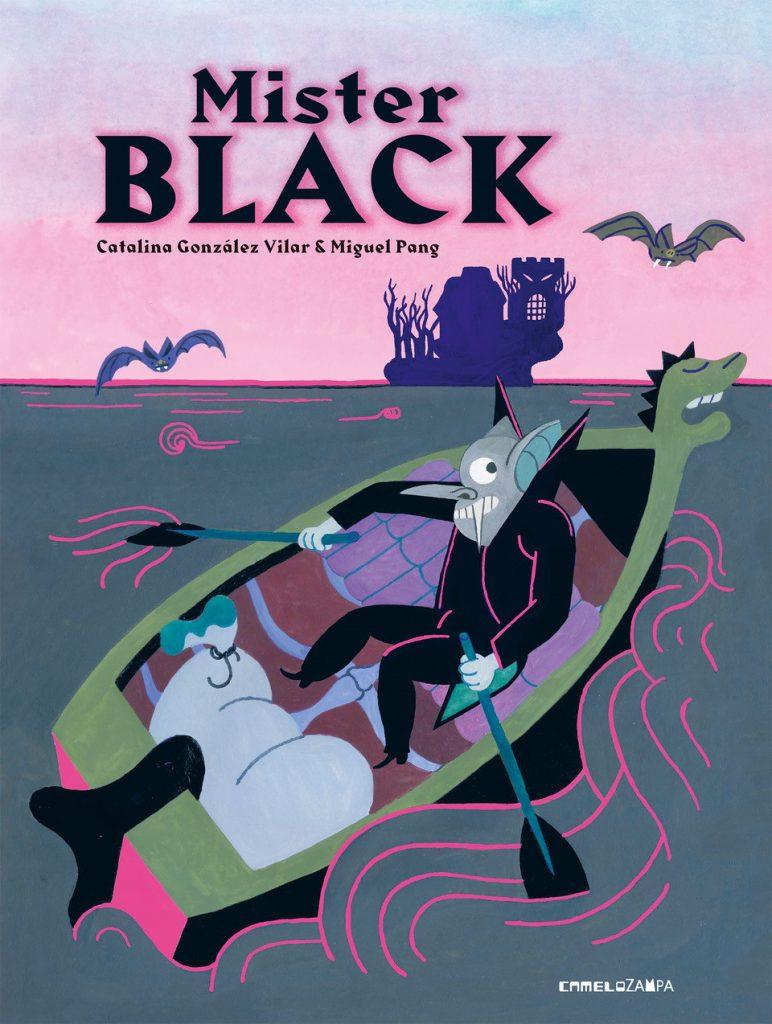 """La copertina del libro di Catalina Gonzàles Vilar """"Mister Black"""""""