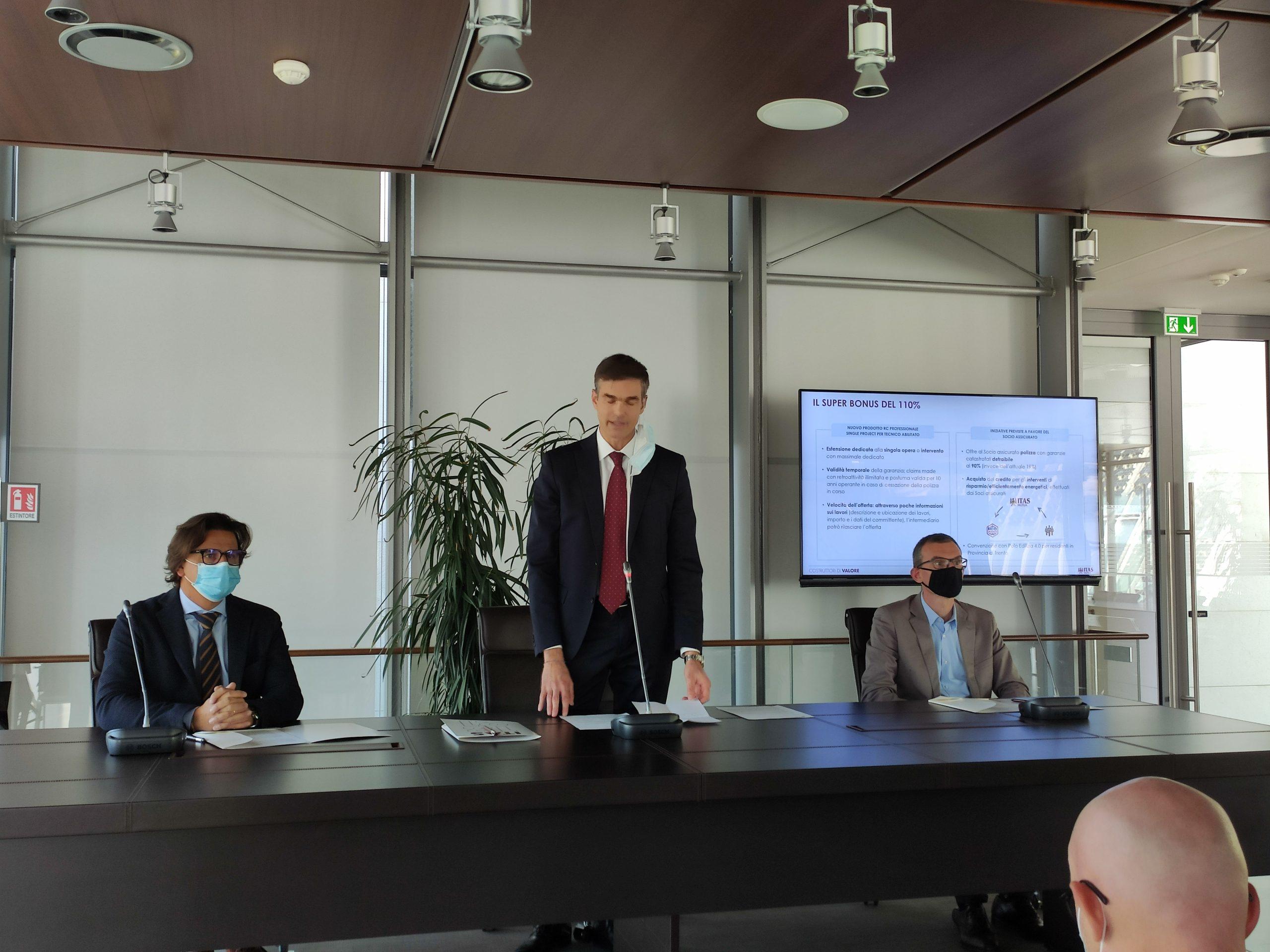 Itas, Acli e Polo Edilizia 4.0 firmano l'accordo sul superbonus 110%